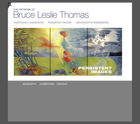 The Artwork of Bruce Leslie Thomas