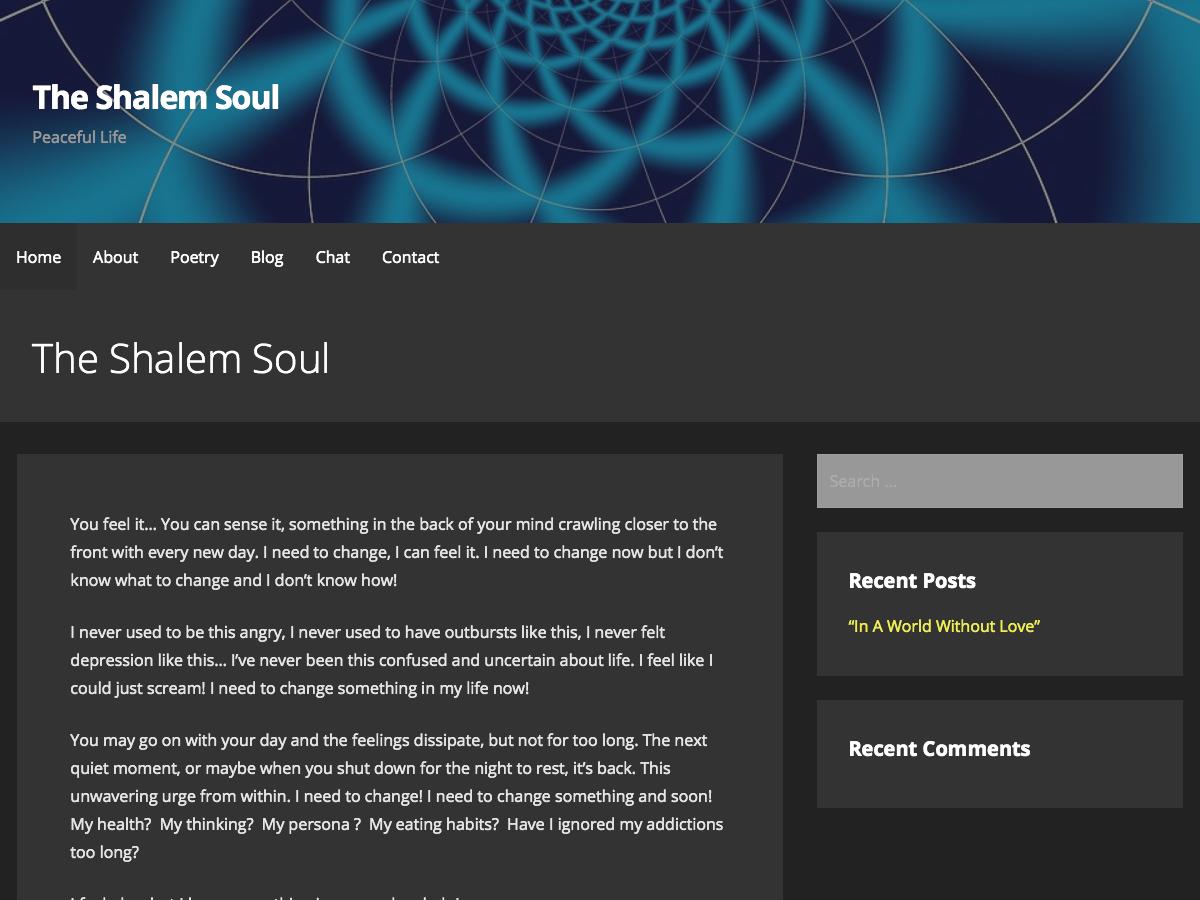 The Shalem Soul